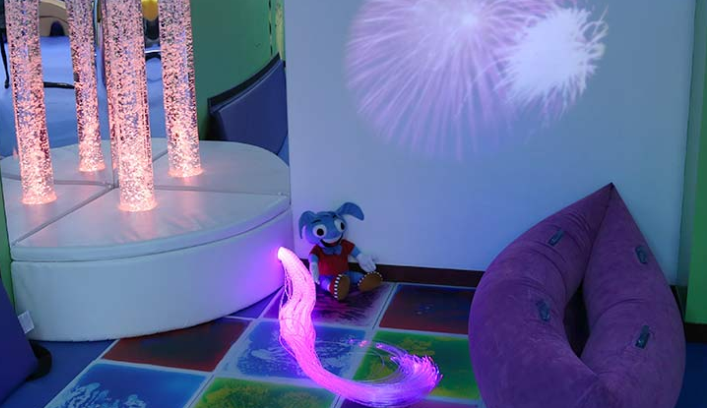 Photo rendering of the sensory room