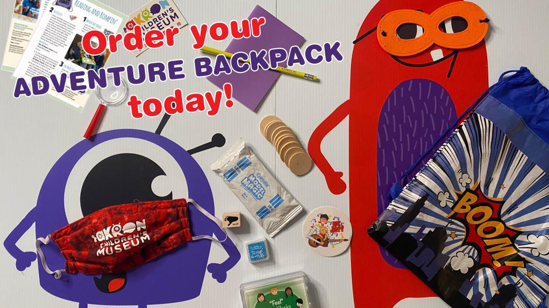 Order your adventure backpack today